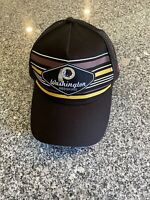 Washington Redskins New Era Team 9FORTY Black Adjustable Snapback Hat