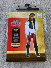 Girls Pretty Scoundrel Pirate Child Halloween Costume - X-Large Child Size