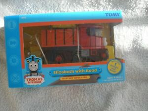 TOMY TRACKMASTER ELIZABETH  WITH ROAD BRAND NEW