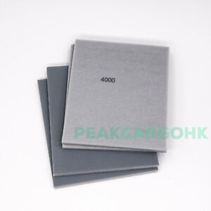 Pack of 4 UK ULTRA FINE GRIT 4000 Sponge Sanding Paper Soft Hand Abrasive Sheet