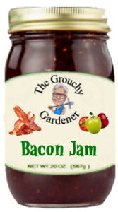 Bacon Jam / Bacon Relish - Spicy Apple Onion Bacon all in one Large 20 OZ Jar