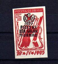 """POLOGNE Oflag Camp de Murnau Bloc """"D"""" Fischer timbre n° 8 neuf sans gomme"""