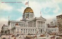 Chicago Illinois~New Post Office~Artist~VO Hammon~1910 Vintage Postcard