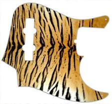J Bass Pickguard Custom Fender Graphic Graphical Guitar Pick Guard Tiger Print