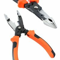 8 Inches 5-in-1 Multifunctional Electrician Pliers Electrical Needle Nose Pliers