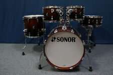 "Sonor AQ2 Shellset in ""Brown Fade""  -  20,10,12,14"" + 14x6"""