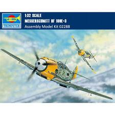 Trumpeter 02288 1/32 Messerschmitt Bf 109E-3 Fighter Assembly Aircraft Model Kit