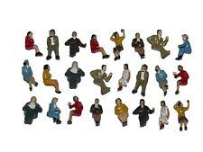 F10 H0- 24 Stück Figuren sitzend nur Sitzende !!! 1:87 NEU