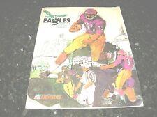 1967 PHILADELPHIA EAGLES v WASHINGTON REDSKINS NFL FOOTBALL PROGRAM VG condition