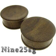 Wood Plugs Organic Plug Pair 6G (4Mm) Concave Parasite