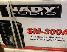 "New Nady AUDIO SM-300A Studio Monitor 8""(pair) POWERED Studio Monitor"