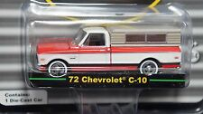 GREENLIGHT 1/64 DAD'S GARAGE SERIES 2 1972 CHEVY C-10 WITH CAMPER SHELL