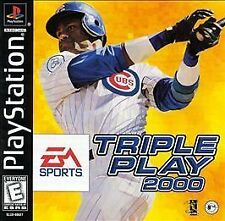 Triple Play 2000 PlayStation PS1 -- Game Only