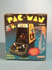 1981 Coleco Tabletop PAC-MAN Arcade PACMAN w/ Rare Canadian Box Cardboard Insert