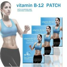 30day VITAMIN B-12 Patch GUARANA & Garcinia cambogia Weight Loss Fitness Patches