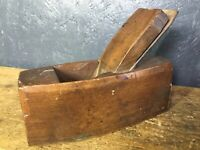 Chunky Vintage Carpentry Wood Plane (2 Of 2)