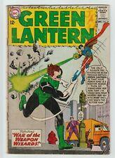 Green Lantern #25 Dc Comic Book 1963 Vg-