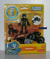DC Super Friends Catwoman With Cat And Catcycle Imaginext Fisher Price