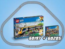 LEGO City 60197 Personenzug + 60205 Trains Schienen Tracks N9/18