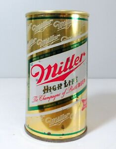 """Miller 12oz with """"Lift Ring"""" on top. Milwaukee, WI Virginia Tax Stamp on bottom"""