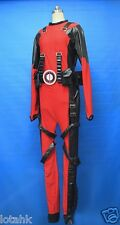 Deadpool Cosplay Costume Custom Made  (Spandex & Pleather ) 2014 Version