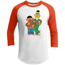 Bert, Earnie, Sesame Street, Cartoon, Cute, Fun, Kids, Retro, T200 Sport-Tek Spo