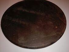 altes rundes Backblech großes Kuchenblech + Rand Bäckereiblech Ø 55cm