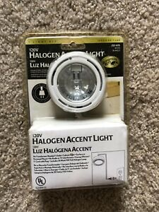 New Hampton Bay Black 120V 20W Halogen Under Counter Accent Light Kit 152625