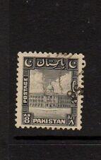 PAKISTAN 1948 8a BLACK - Nice Used - KARACHI PORT TRUST