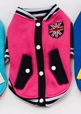 UK Pet Outfit Costume Jackets Apparel Coat for Small Dogs Puppies Jumper Sweater