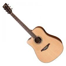 Vintage Dreadnought Guitarra acústica LVEC 501N Electro ~ zurdo satén natural