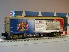 LIONEL DWIGHT D EISENHOWER PRESIDENTIAL BOXCAR O GAUGE MADE USA train 6-81490