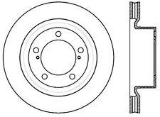 Centric Parts 120.44156 Front Premium Brake Rotor