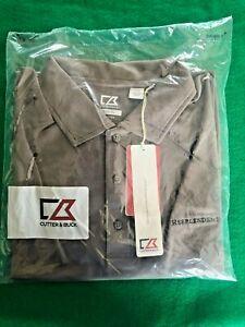 Cutter & Buck Women's Size L Short Sleeve / Collared Shirt / jd759