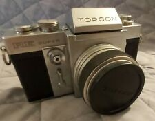 1972 Japan Topcon Super RE 35 mm SLR with box and warranty card