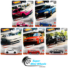 Hot Wheels Premium 2020 Car Culture S Case Modern Classics Set of 5 Cars