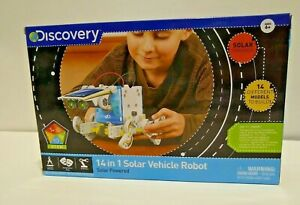 Discovery 14 in 1 Solar Vehicle Robot STEM Ages 6+ NIB Parts Sealed Homeschool