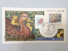 COLLINS H/P FDC 1994 FLORIDA MILFORD DUCK - RARE
