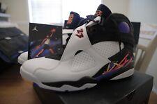 "Brand New Size 11 Air Jordan Retro 8 ""3-Peat"" 305381 142"