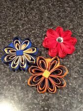 Madelienas Handmade .. My Quilling Flower  Style Hair Clip (1)
