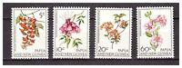 s19963) PAPUA & NEW GUINEA MNH** Nuovi** 1966 Flowers 4v