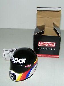 Simpson Limited First Edition Mike Dunn Mini Race Helmet MOPAR Chrysler Logo