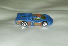 1988 Mattel Hot Wheels Blue Race Car Die Cast - Excellent Condition