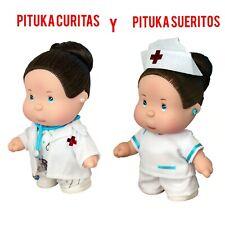 2 DOLLS PITUKA CURITAS y PITUKA SUERITOS MEXICAN BEAUTIFUL DOLL