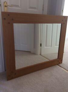 Next Cambridge Solid Oak Mirror