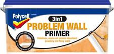 Polycell 3 in 1 Problem Wall Primer Seals Stabilises Prepares Flaky Surfaces