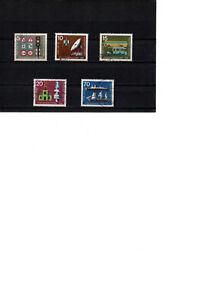 ALLEMAGNE 1965  lot  de 5 timbres  exp. intern. des transports