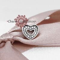 Pandora, S925 Sparkling Heart Locket Petite , NEW, 792163CZ