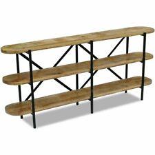 vidaXL Sideboard Mango Wood 180x30x76 cm