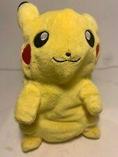 Transforming Pikachu Pokeball Plush 9 Inch Clean Smoke Free Home